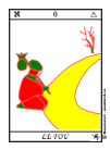 Fou, Tarot, Arcanes Majeurs du Tarot