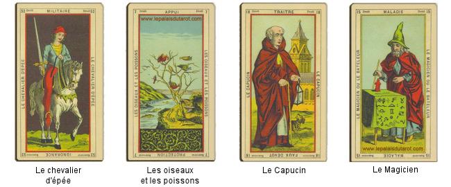 Histoire du Tarot et ses Origines, Le Livre de Thot Etteilla Tarot