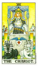 Le Chariot - Carte de Tarot Signification Arcane Majeur