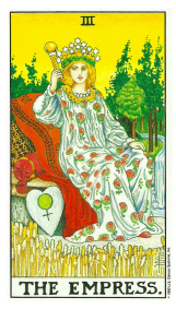 L'Impératrice - Carte de Tarot Signification Arcane Majeur