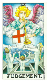 Le Jugement - Carte de Tarot Signification Arcane Majeur