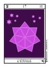 Étoile Arcane Majeur du Tarot