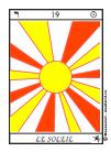 Soleil, Tarot, Arcane Majeur