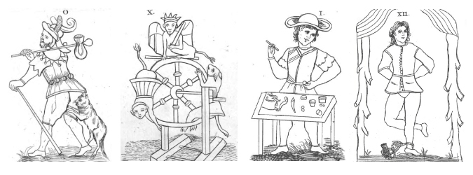 Histoire du Tarot et ses Origines, Tarot de Court de Gebelin