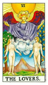 L'Amoureux - Carte de Tarot Signification Arcane Majeur