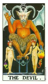 Le Fou - Carte de Tarot Signification Arcane Majeur