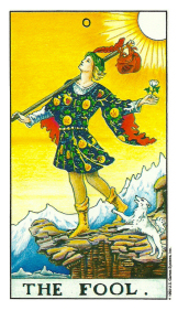 Le Fou - Signification du Tarot