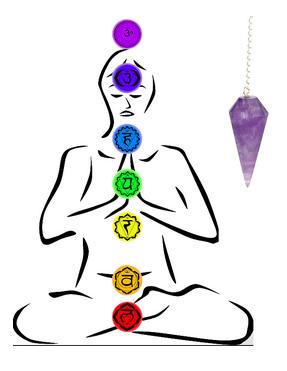 Cours de pendule - évaluer vos chakras